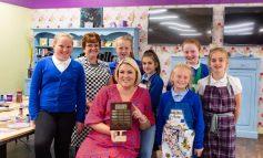 School children craft their way to business success