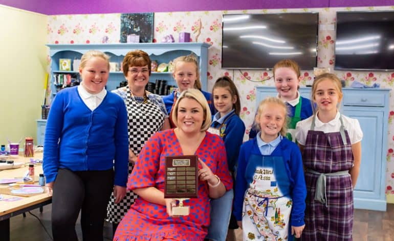 School children craft their way to business success