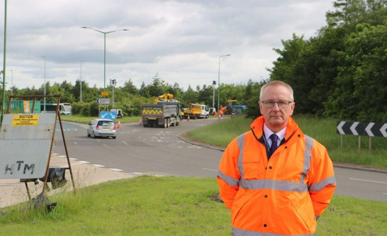 Work starts to improve A1(M) junction