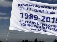 Aycliffe Youthy FC still flying high – 30 years on