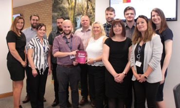 Council scoops national award for customer services