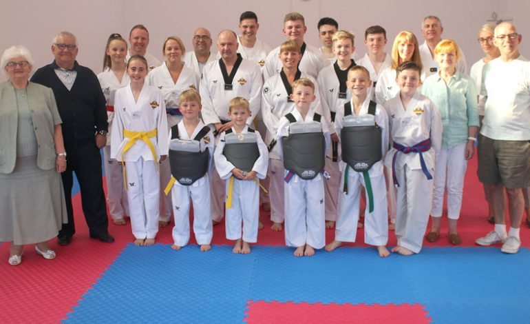 GAMP funding for local Taekwondo club