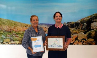 Youth Justice Service receives award for investing in children