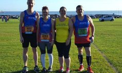 Aycliffe runners in Great North Run