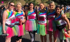 Crafter's staff smash Rainbow Trust fundraising target with £5,000 Great North Run effort