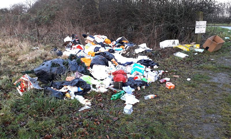 Council continues fight against fly-tipping as incidents fall