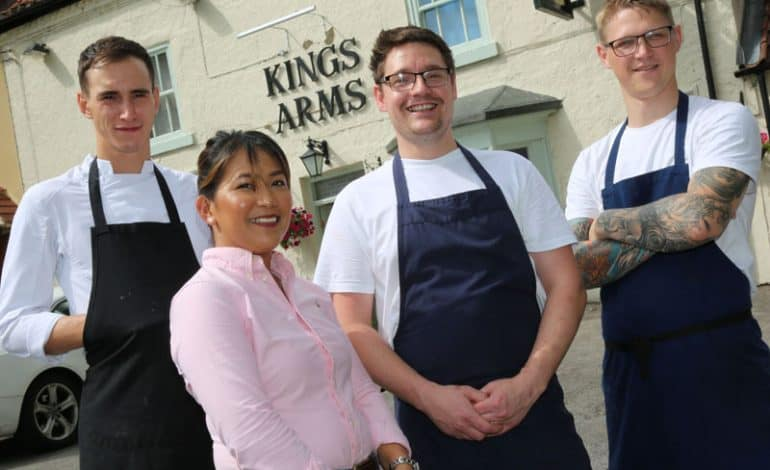 King's Arms celebrates two years with new Market Menu