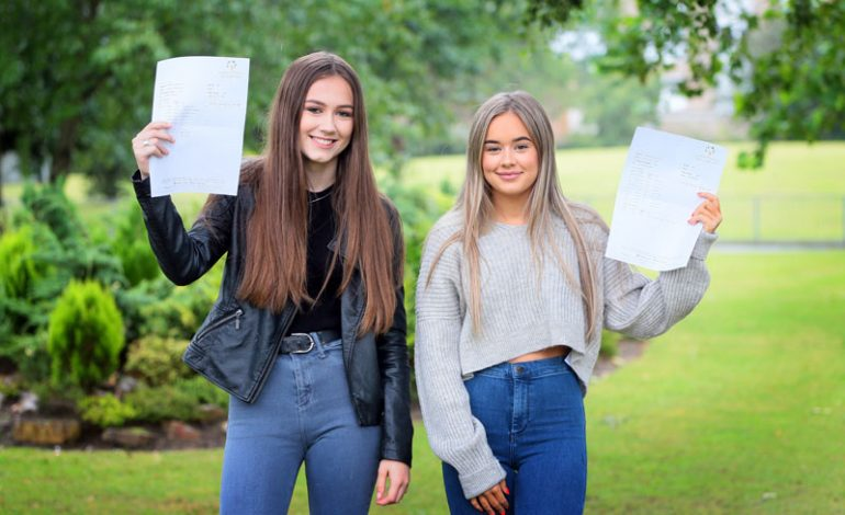 Pictures: 'Best ever' GCSE results at Woodham