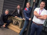 Aycliffe firm Stiller helps to relocate unique piece of cathedral for good cause