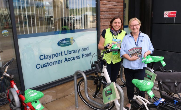 Council campaign rewards travel by bike