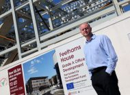 Office block adds metal to Feethams development