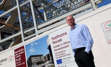 Office block adds metal to Feethams development
