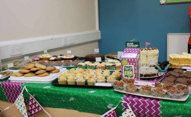 Sweet success at Macmillan Coffee Morning