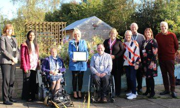 PCP garden wins Outstanding Britain in Bloom