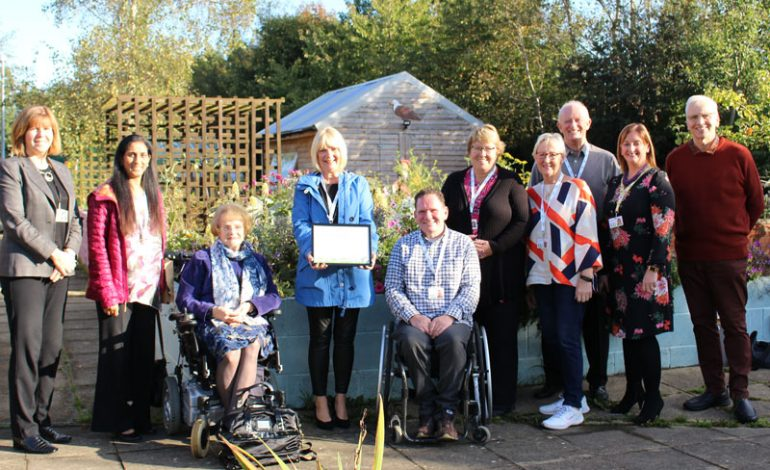 PCP garden wins Outstanding Britain in Bloom