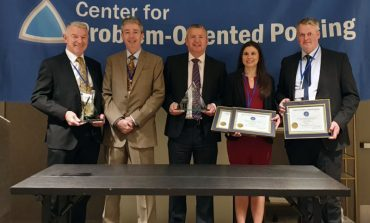 Global award for pioneering police project
