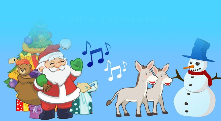 Donkey rides at PCP's Christmas Fair