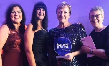 PCP's Becky is winner at Investors in People awards