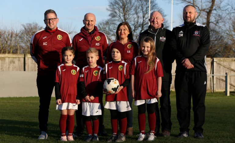 Football club officially merges with Aycliffe Juniors