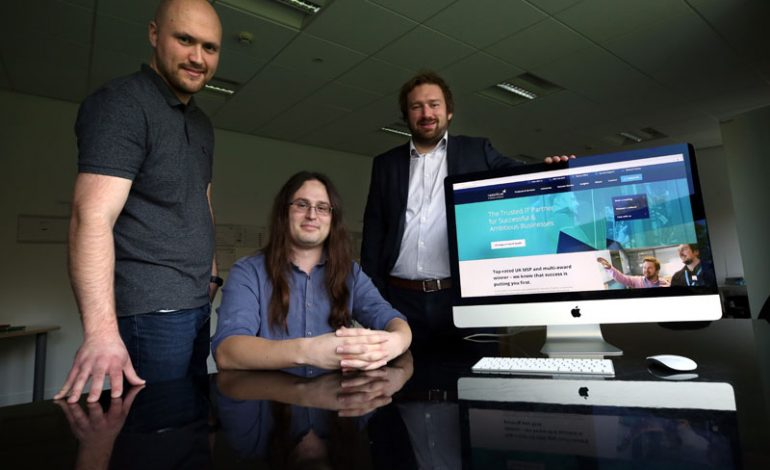 Leading IT firm marks recent success with new website