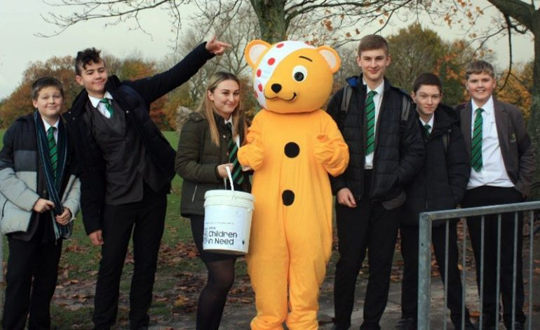 Woodham Academy raises money for Children in Need