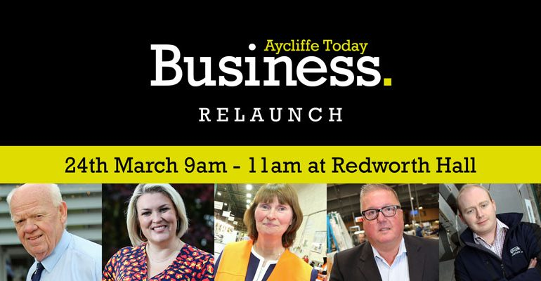 Business leaders to celebrate relaunch of Aycliffe Today Business