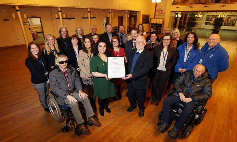 Council's disability support gets government status
