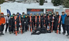 Pictures: Greenfield students navigate the slopes in Aosta Valley