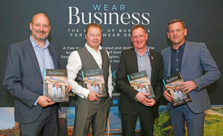 Businesses gather as publishers launch new magazine
