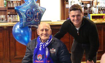 Aycliffe superfan celebrates 90th birthday