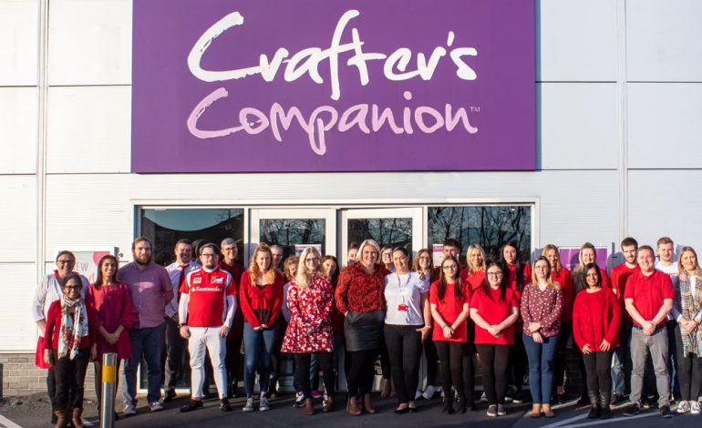 Bradley Lowery Foundation named as Crafter's Companion's charity of the year