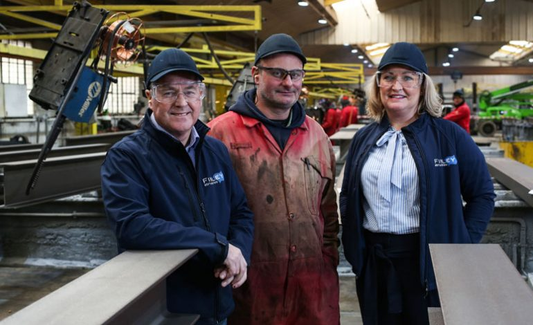 Steel firm enjoys record order book as it approaches 20th birthday
