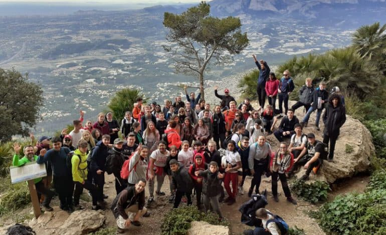 Greenfield students making European connections