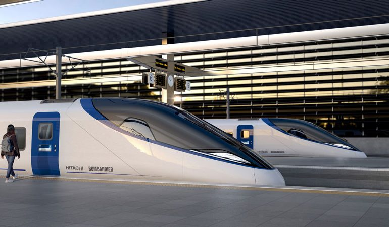 HS2: Hitachi and Bombardier bid to build trains