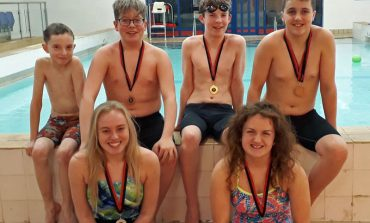 Valentine Success for Sedgefield 75 swimmers
