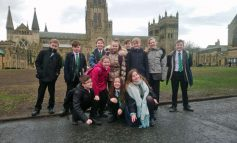 Students enjoy book visit to Durham