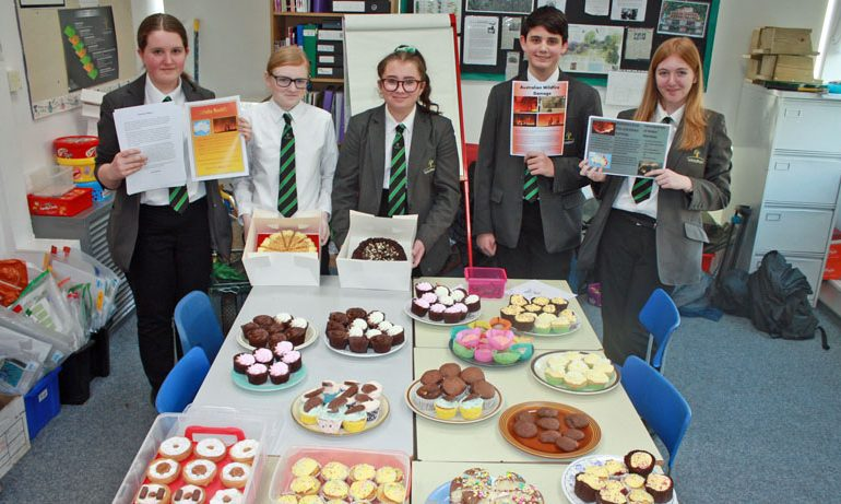 Woodham Academy bushfire bake sale raises £500+