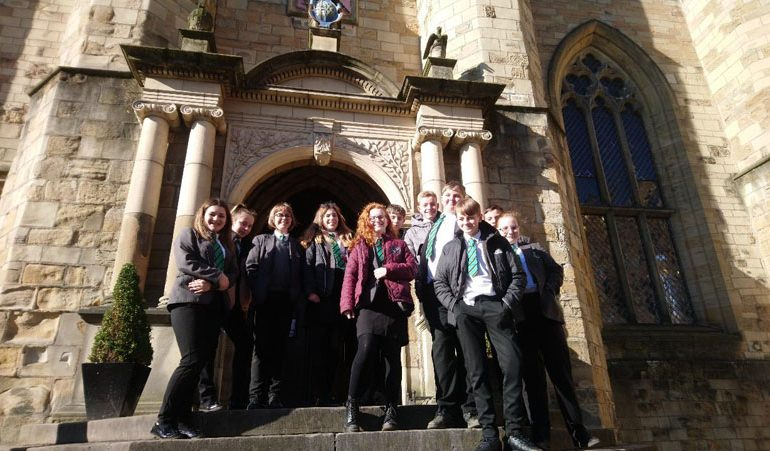 Students enjoy Durham city trip