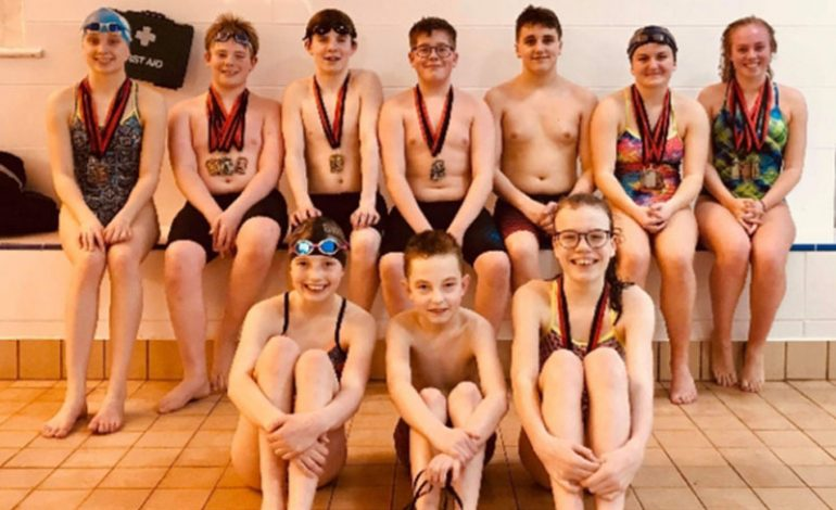 Swimmers compete in Billingham