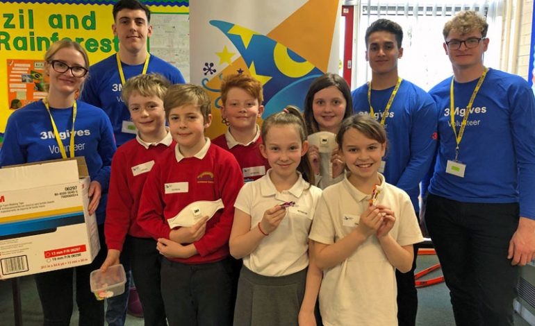 Students inspired by Visiting Wizards for British Science Week