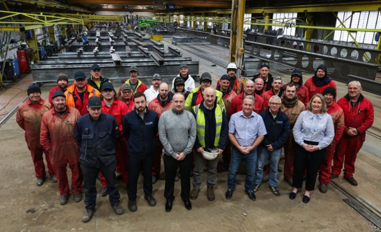 Finley Structures celebrates longlasting relationship with one of the UK's oldest construction giants, Sir Robert McAlpine