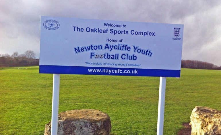 Aycliffe Youthy FC gets £45,000 grant to improve council-owned pitches