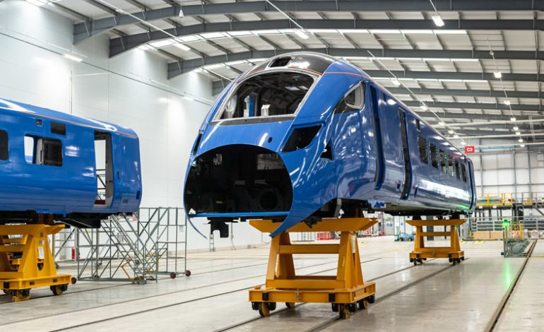 Aycliffe train-making is back on track as Hitachi starts work on e-fleet contract