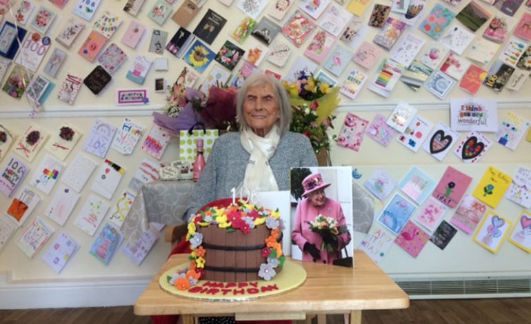 Aycliffe Angel celebrates 106th birthday with almost 600 cards