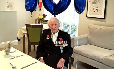 Aycliffe care home resident celebrates 101st birthday