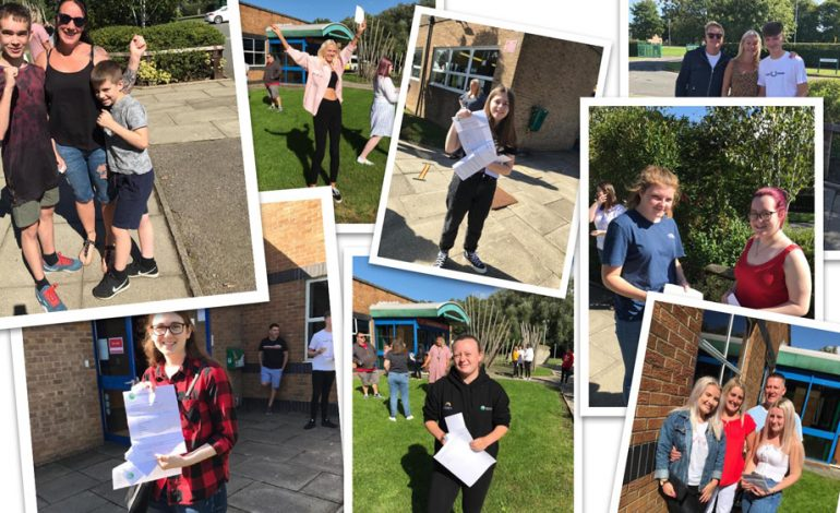 Greenfield students celebrate GCSE results day
