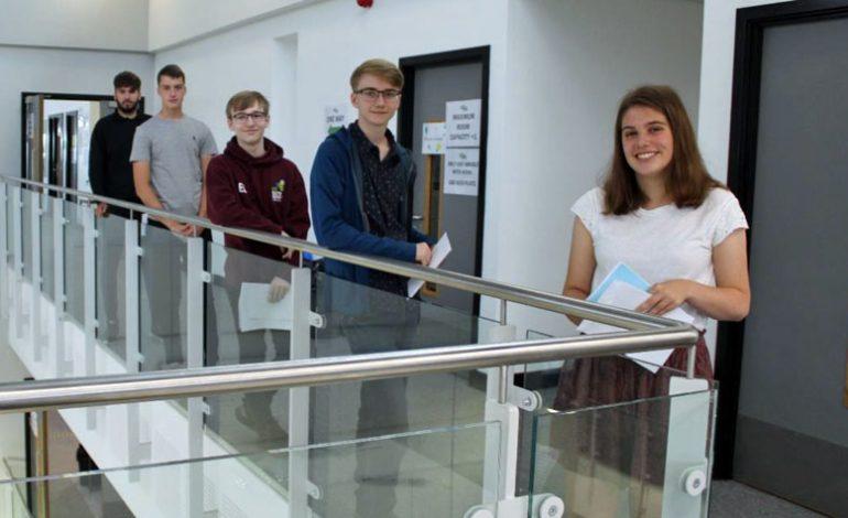 UTC students celebrate A-level results