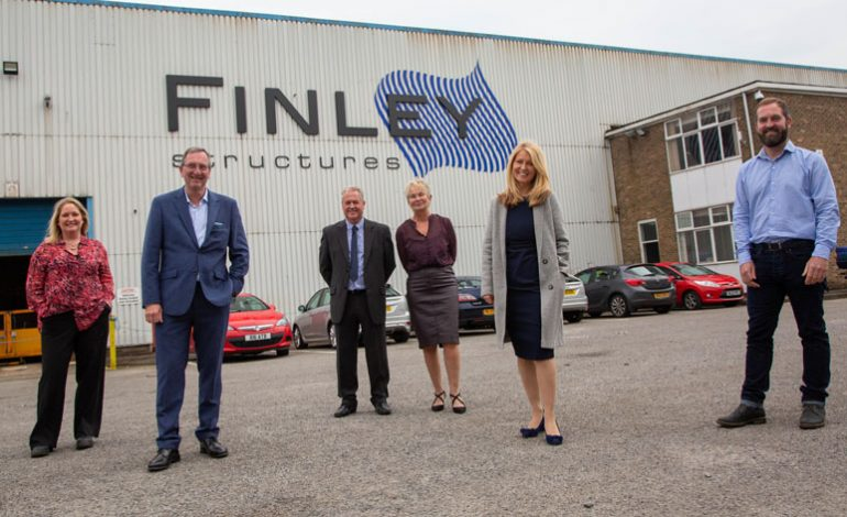 Family-run steel firm celebrates 20th anniversary with special visit