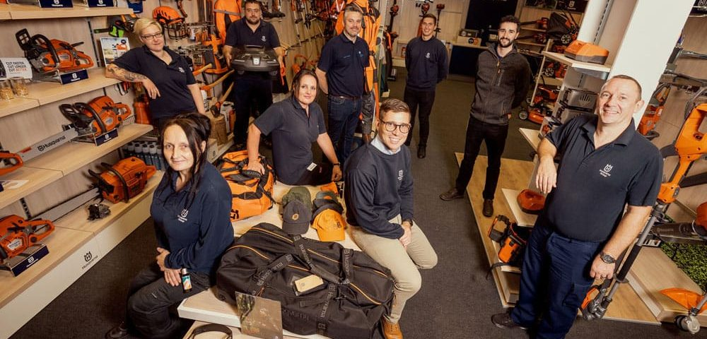 50+ training apprentices on the Husqvarna career ladder