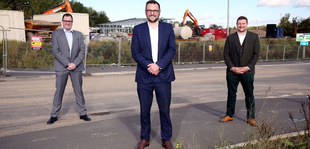 Construction gets under way at £140m Forrest Park